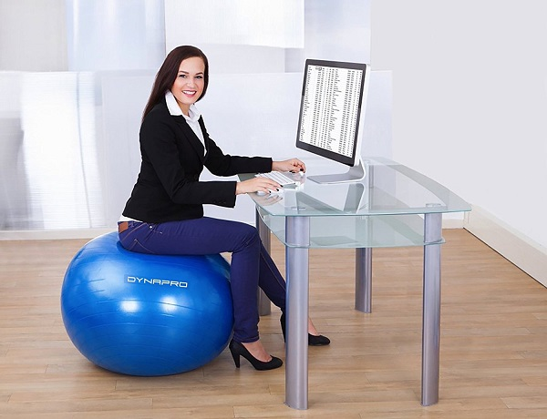 best exercise ball chair