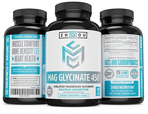 Zhou Nutrition Magnesium Glycinate Chelate