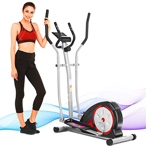 Sportek Ee220 Elliptical Review / Compact elliptical trainer with adjustable strap tension and workout computer.